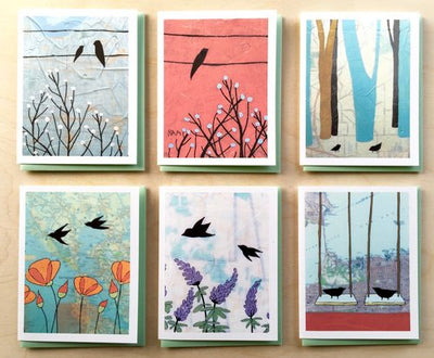 "Boxed Blank Cards ""Birds"""