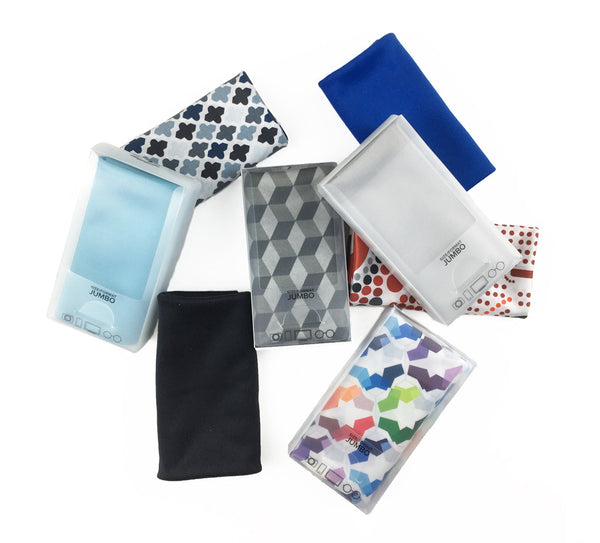 "Assorted 12"" x 15"" JUMBO Microfiber Cloths (Personalized)"