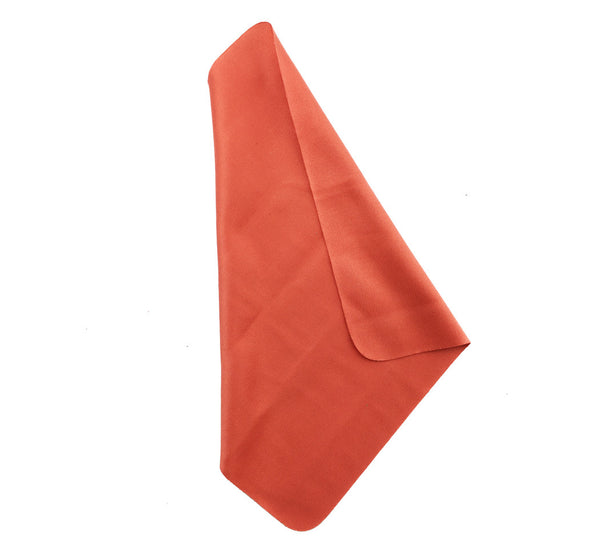 "Orange 7""x7"" Microfiber Cloths"
