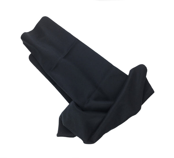 "Black 12"" x 15"" JUMBO Microfiber Cloths (Personalized)"