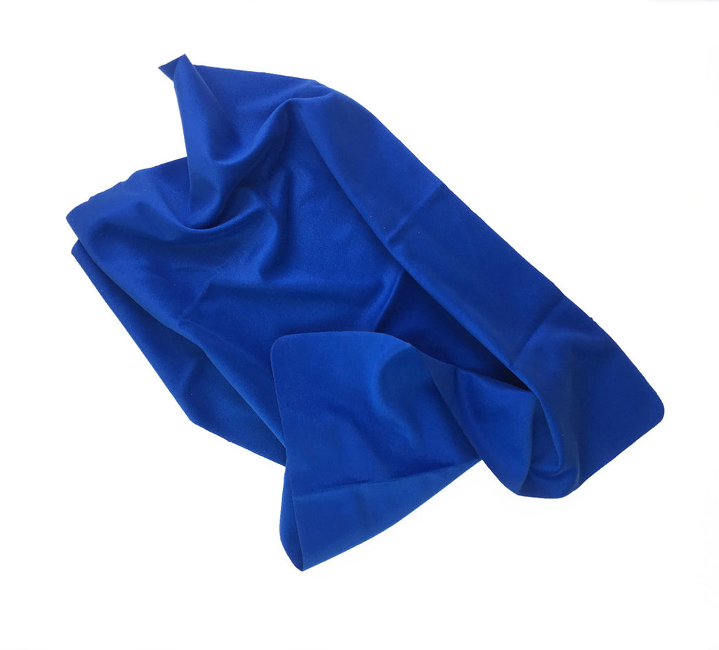 "Royal Blue 12"" x 15"" JUMBO Microfiber Cloths (Personalized)"