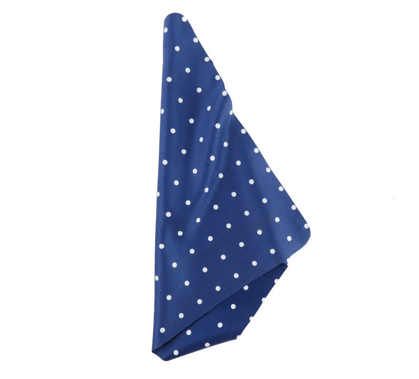"Polka Dot 7""x7"" Fashion Microfiber Cloths"