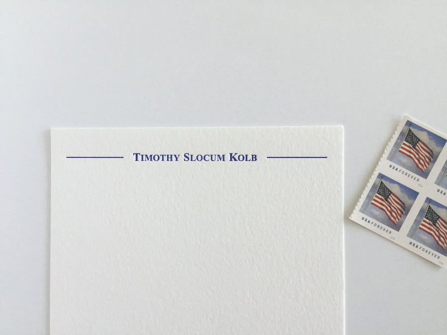 Oxford Letterpress Stationery
