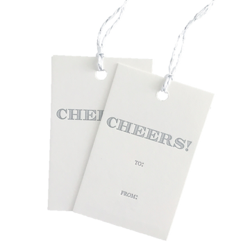 Cheers Gift Tags No. 1, Set of 6