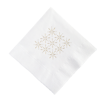 Starburst Cocktail Napkins, Set of 25