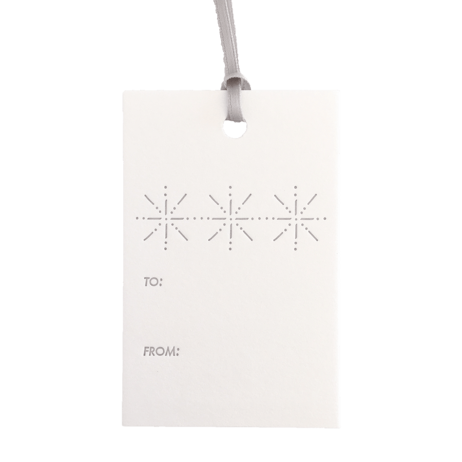 Snowflake Gift Tags, Set of 6