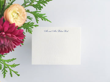 Essential Script Letterpress Stationery