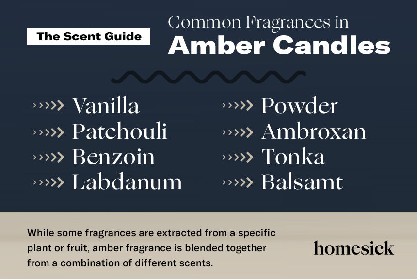 common fragrances in amber