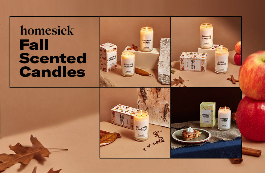homesick fall scented candles
