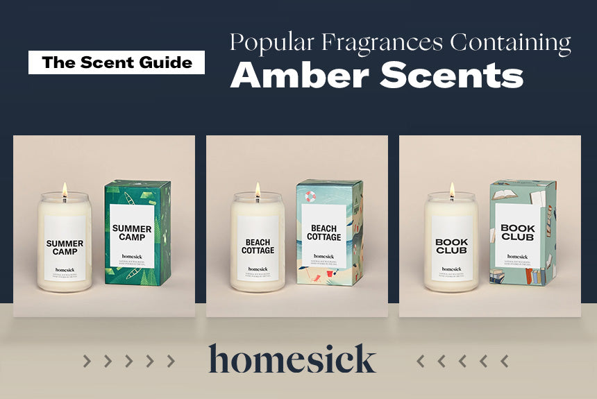 Popular Amber Candle Scents
