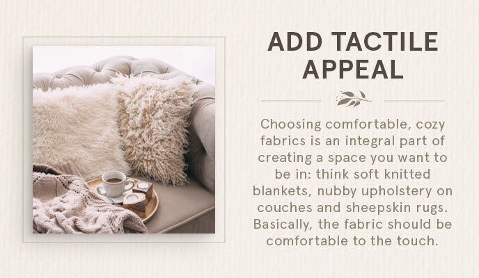 add tactile appeal graphic