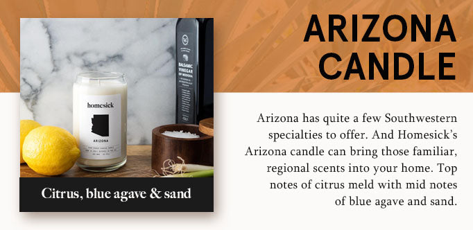 arizona candle graphic