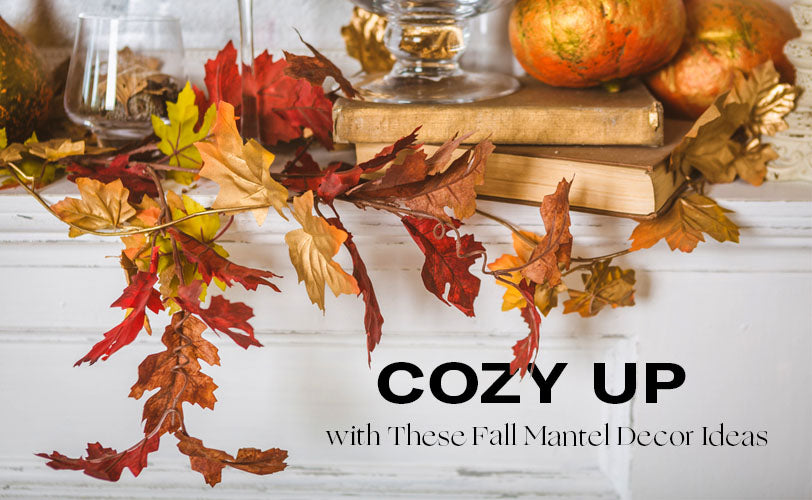 Cozy Up with These Fall Mantel Decor Ideas