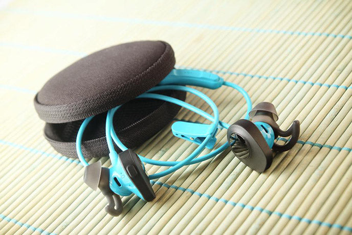 Earphones with Carrying Case