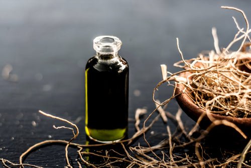 essence of vetiver grass