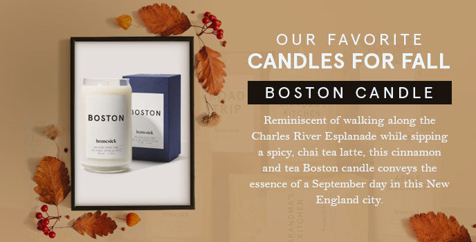 favorite fall candles boston graphic