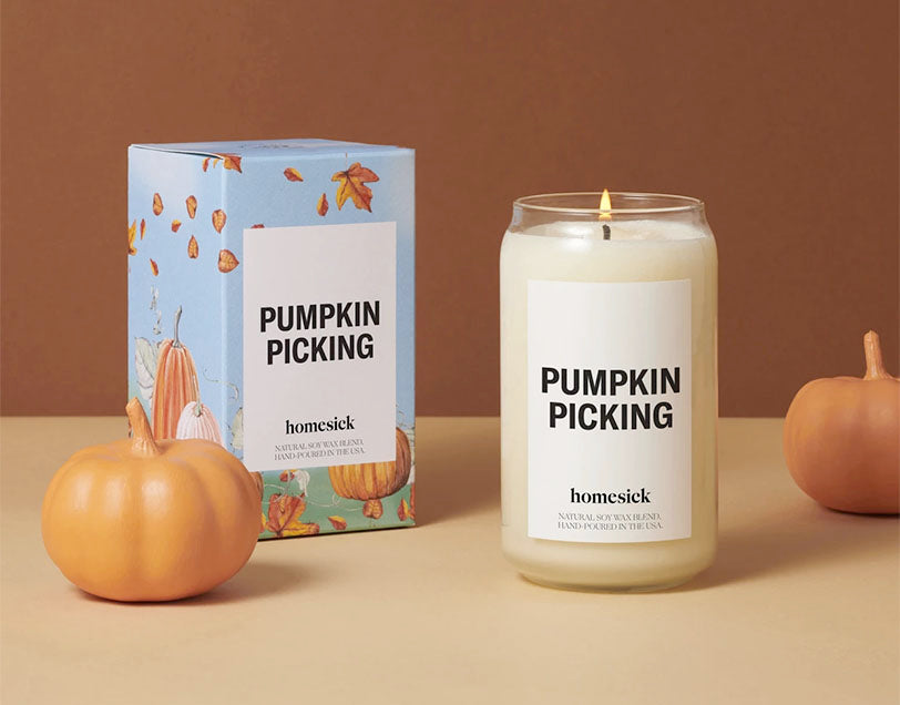 homesick pumpkin picking candles