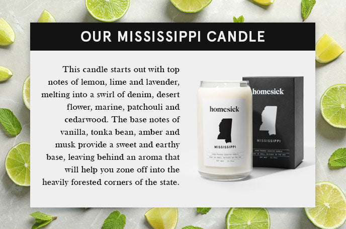 our mississippi candle quote