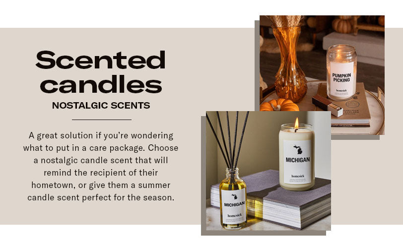 scented candles nostalgic scent