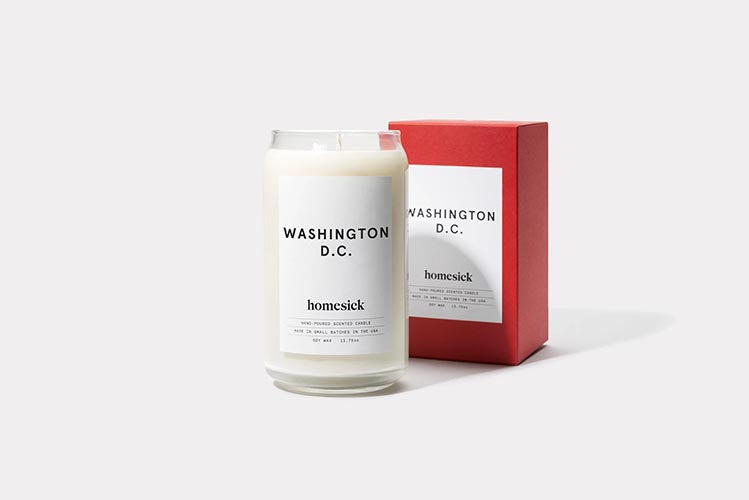 washington dc homesick candle