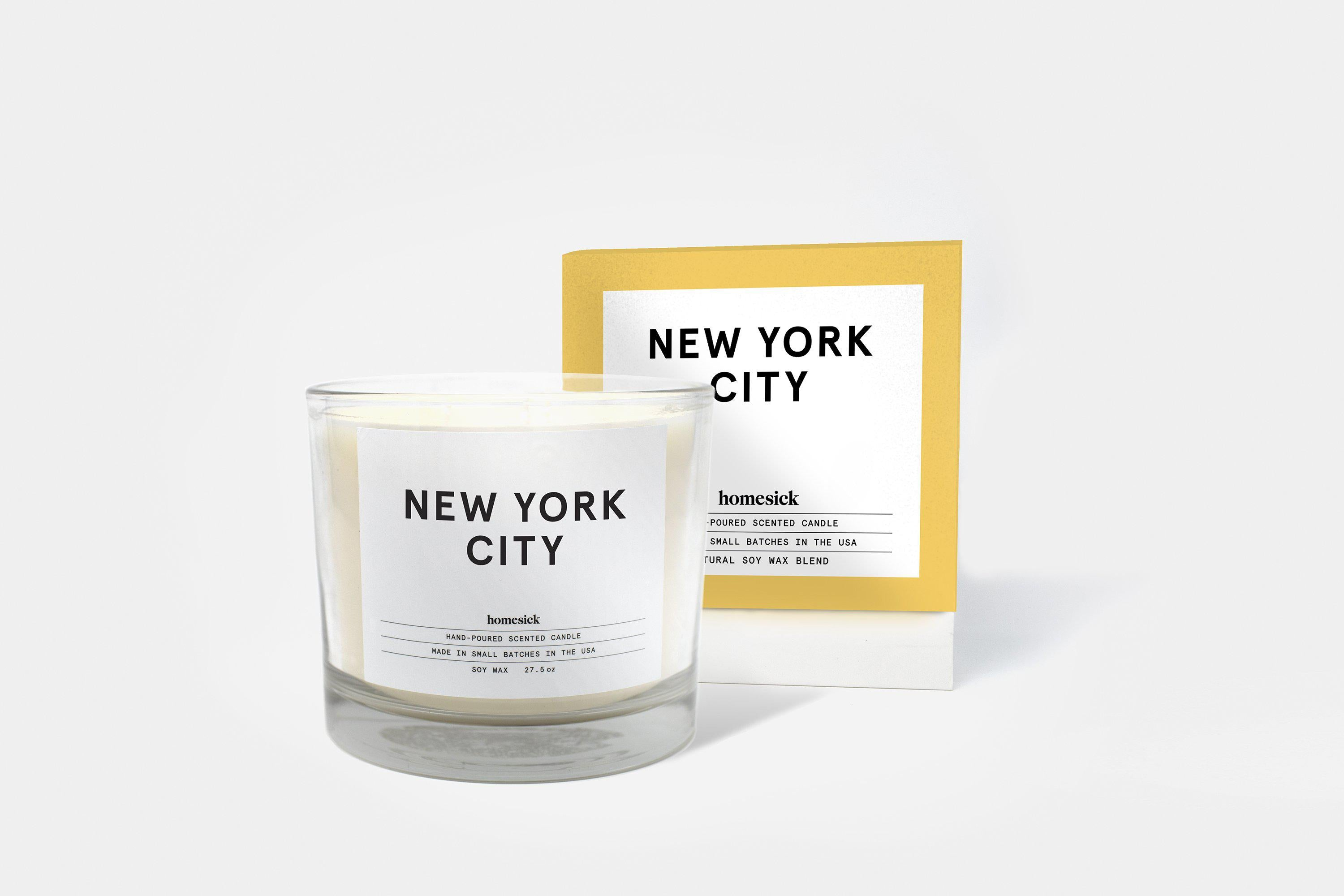 New York City 3 Wick Candle