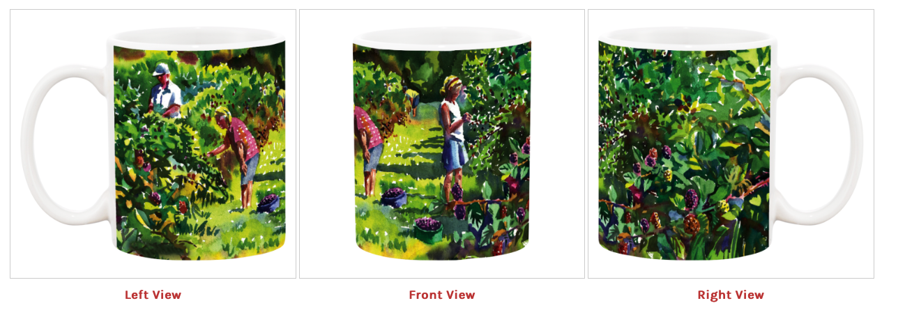 Mug | Berry Pickers