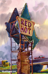 Magnet | Red Hot Truck Stop