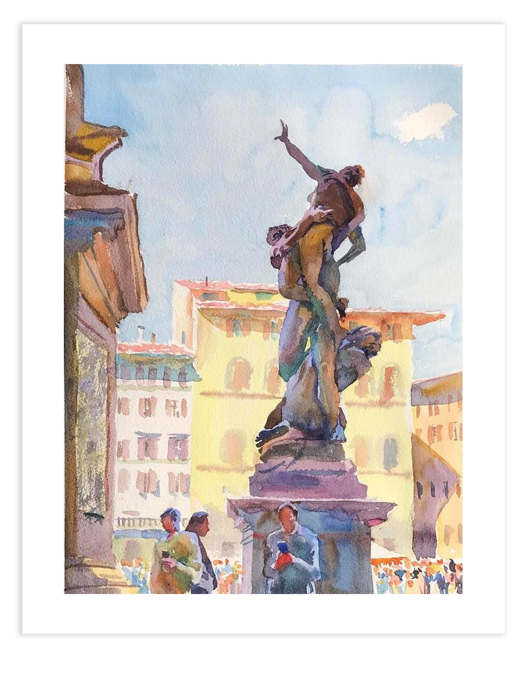 Print | Rape of the Sabine Women