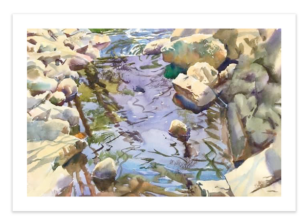 Print | Water and Stone