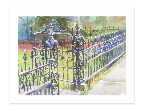 Print | Gates and Fences