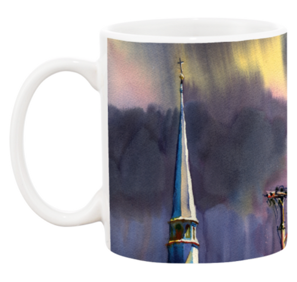 Mug | Cloudy Church