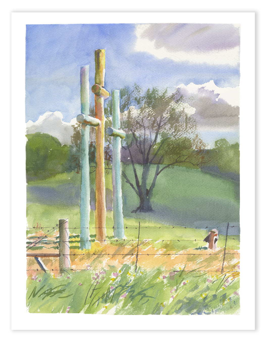 Print | Growing Crosses