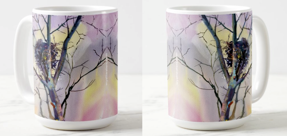 15 oz. Mug | Twigs and Branches