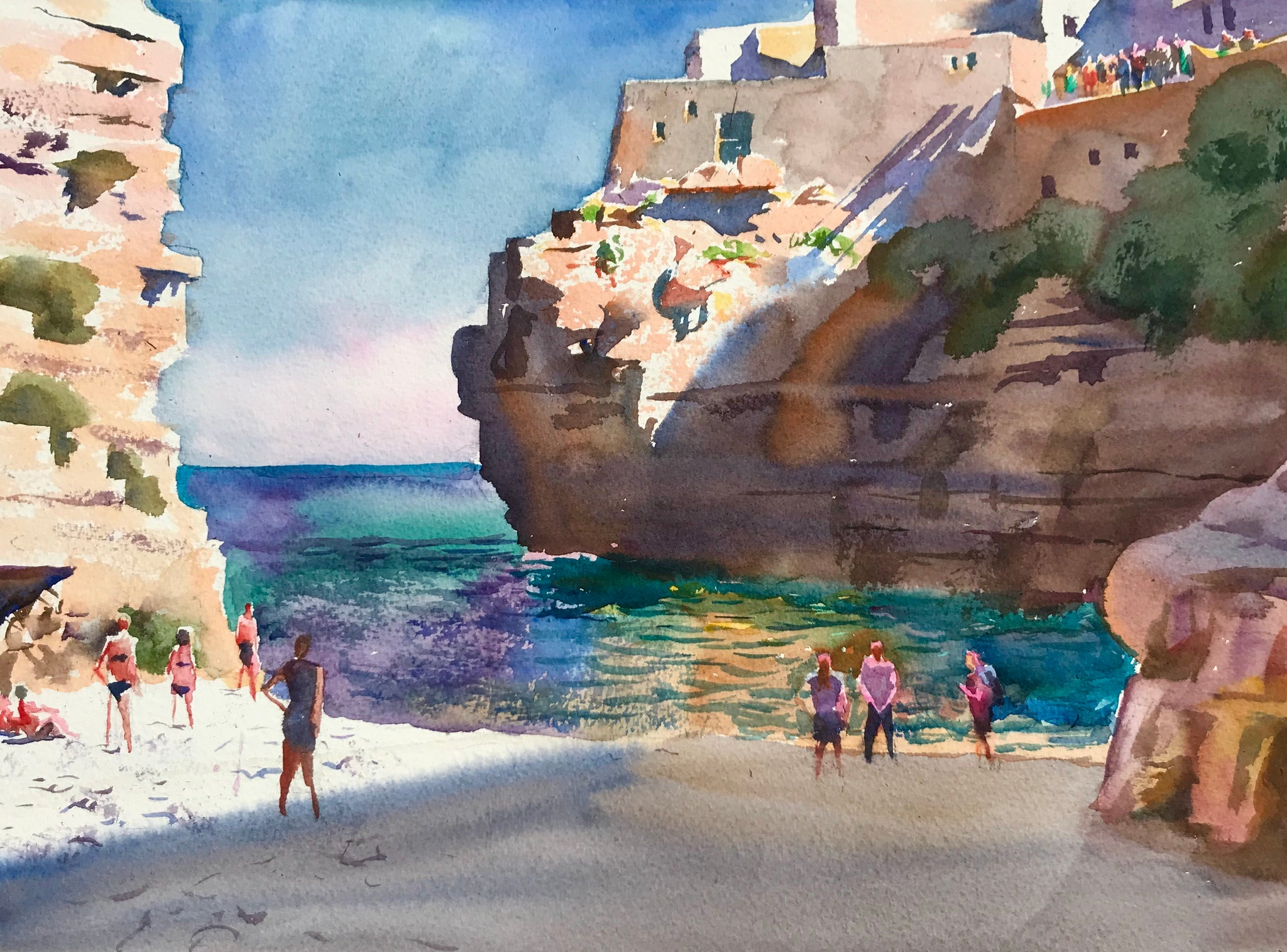 Sea, Rock, City | Polignano a Mare