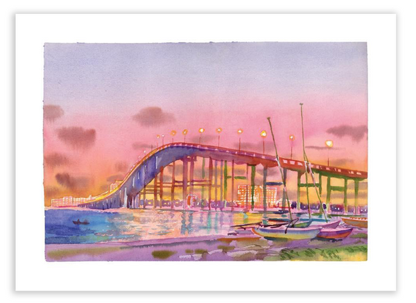 Print | Ocean Springs Bridge