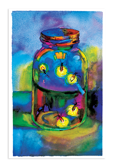 Greeting Cards | Fireflies