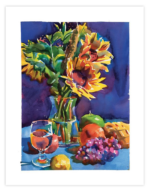 Print | Sunflowers