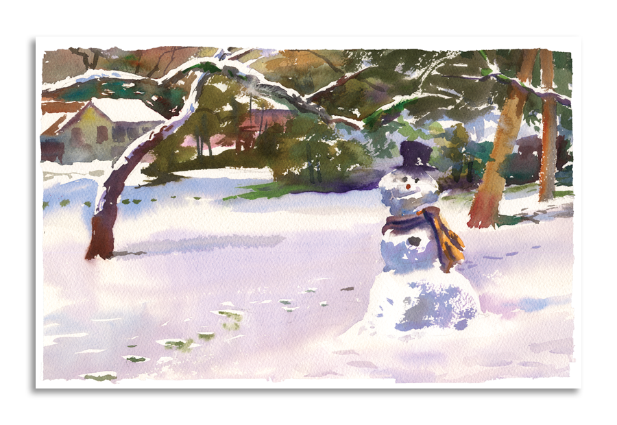 Greeting Cards | Snowman