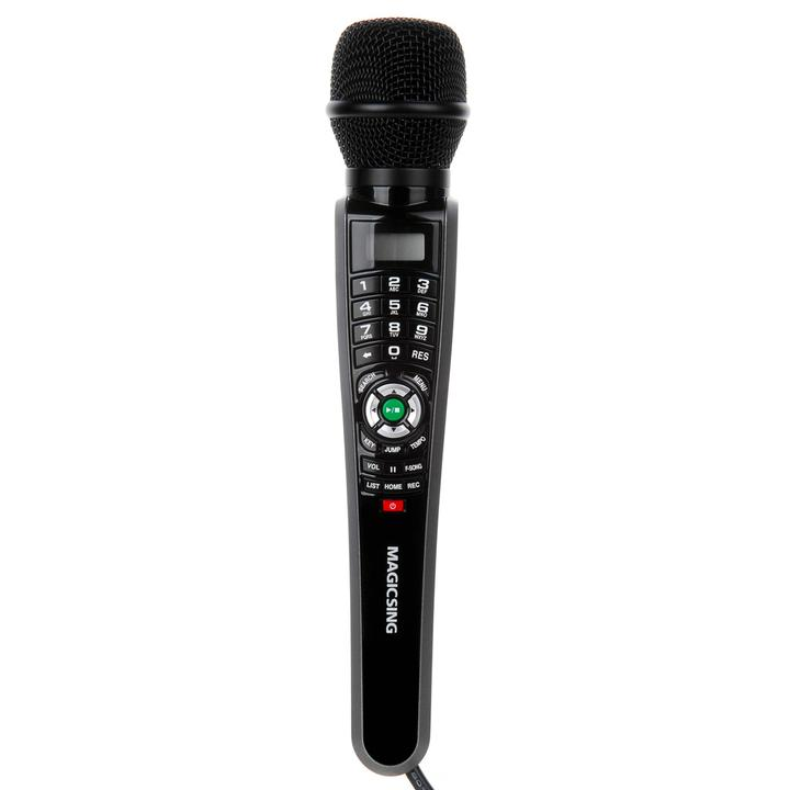 MagicSing-E1 (ET-30KH) Single Wired Streaming Karaoke Microphone System  (with a 2-Month or 1-Year Subscription)