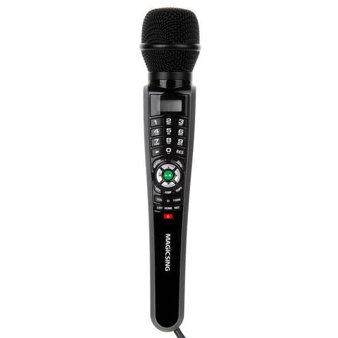 MagicSing-E1 (ET-30KH) Single Wired Streaming Karaoke Microphone System  (with a 1-Year Subscription card)