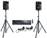 Rental Package A-2:<br>Karaoke System with 12,310 English songs,<br>Mixer & Powered Speakers - Seattle Karaoke - Seattle Karaoke - Systems w/ English Songs - 1