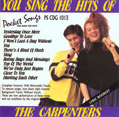 PSG-1013 The Carpenters - Seattle Karaoke - Pocket Songs - English - CDG