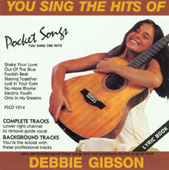PSG-1014 Debbie Gibson - Seattle Karaoke - Pocket Songs - English - CDG