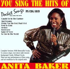 PSG-1019 Anita Baker - Seattle Karaoke - Pocket Songs - English - CDG