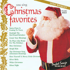 PSG-1023 X'Mas Favorites - Seattle Karaoke - Pocket Songs - English - CDG