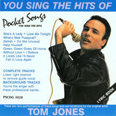PSG-1028 Hits of Tom Jones - Seattle Karaoke - Pocket Songs - English - CDG