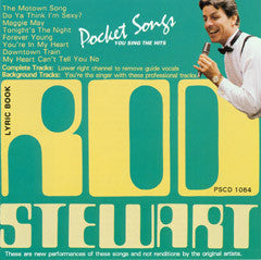 PSG-1064 Rod Stewart - Seattle Karaoke - Pocket Songs - English - CDG