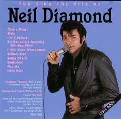 PSG-1068 Neil Diamond #2 - Seattle Karaoke - Pocket Songs - English - CDG