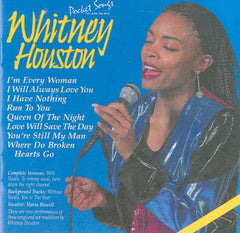 PSG-1079 Whitney Houston #2 - Seattle Karaoke - Pocket Songs - English - CDG