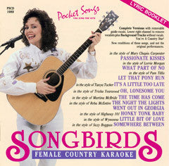 PSG-1089 Female Country - Seattle Karaoke - Pocket Songs - English - CDG